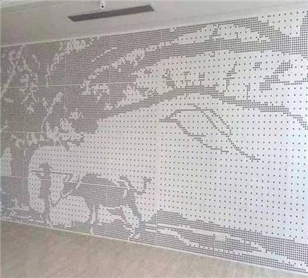 室内冲孔铝单板